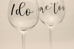 The Wedding Place | Personalised Wine Glasses
