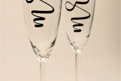The Wedding Place | Personalised Champagne Glasses
