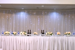 The Wedding Place | Plain Backdrop