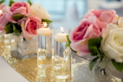 The Wedding Place | Bridal Table Silk Flowers