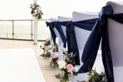 The Wedding Place | Aisle Flowers