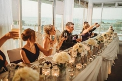 The Wedding Place   Bridal Table Silk Flowers