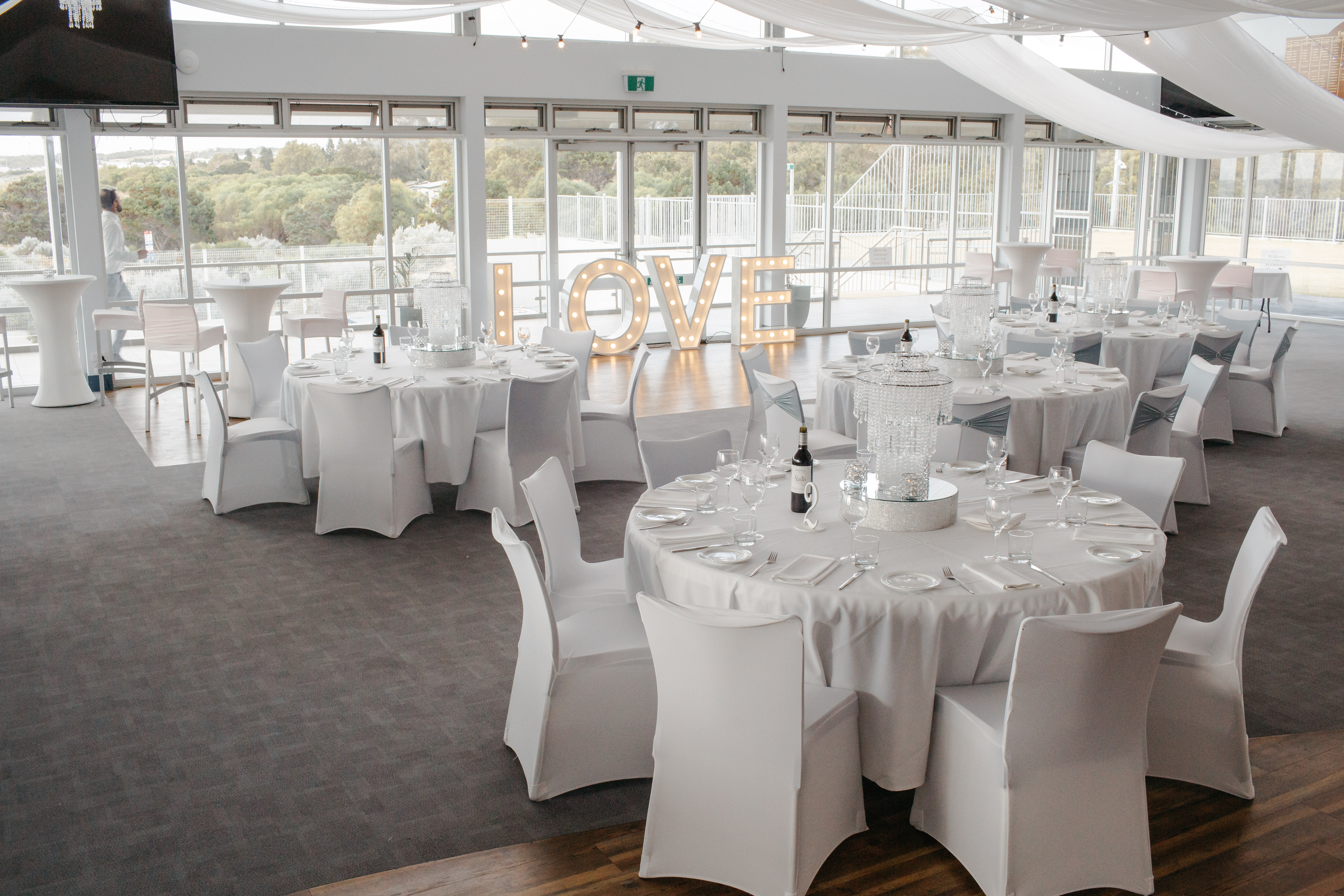 Reception Decorating Styling And Hire The Wedding Place Perth